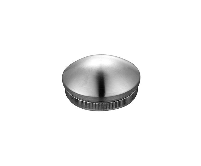stainless steel stair handrail tube end caps
